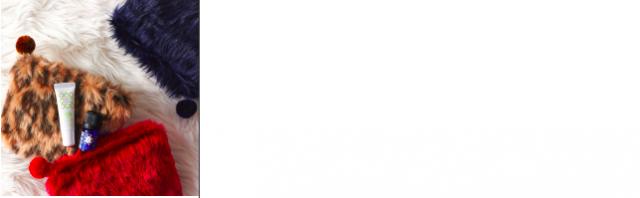 [fleur de fatima]フェイクファーポーチ、リップエッセンス、エッセンスオイル3ml
