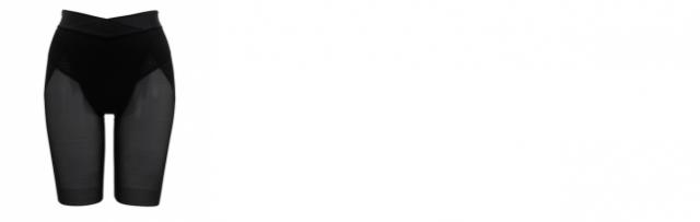 [BRADELIS NewYork]マジェスティ ロングガードル(ブラック)