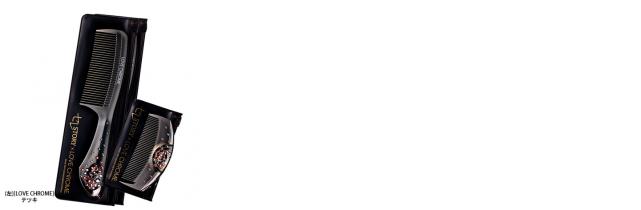 [LOVE CHROME]テツキ プレミアムブラック(スワロフスキー(R)クリスタル付)