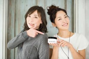 ミニオン化粧品の祐子さんと髙橋さん