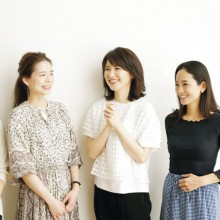 友利新先生とVERY読者の日焼け止め対談